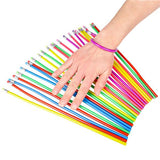 "One Dozen (12) Flexible Pencils 12.5"" Inches long in Assorted Colors"