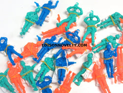 2.5 inches Solider Paratroopers 2 Dozen Assorted