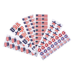 Patriotic Sticker Assortment 100 Sheets