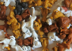 Puppy Figures Mix 4 Dozen (48)