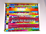 "One Gross 144 Readers Pencil Assortment 7.5"" Long"