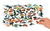 Sea Life Creatures Assortment 90 Pieces