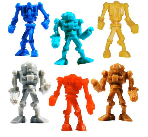 Tiny Warbots Robot Plastic Figures Lot of 20