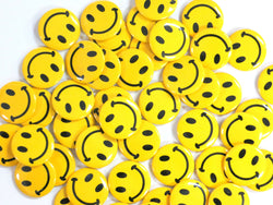 Mini Smile Face Buttons (48 per order)