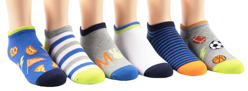 Stride Rite Sam Sport 6-pack socks