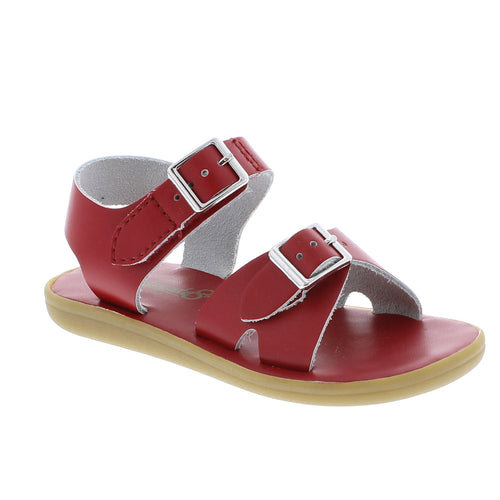 Footmates Tide red girls sandals