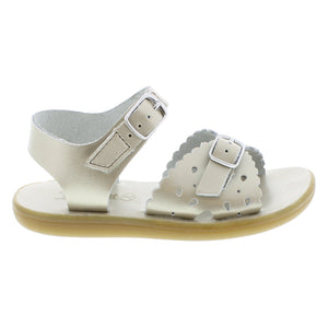Footmates Ariel Soft Gold kids sandals