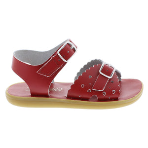 Footmates Ariel Red kids sandals
