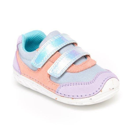 Stride Rite Mason Purple Multi Baby shoes