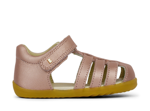 Bobux baby jump rose gold sandals