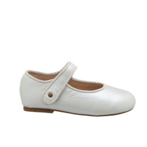 Old Soles Lady Jane Mary Jane dress shoes in Blanco