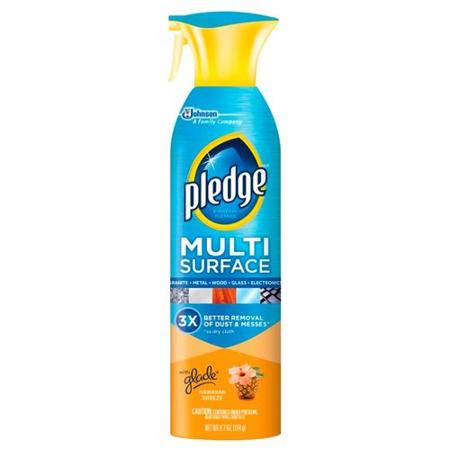 Pledge Multi-Surface Spray Hawaiian Breeze - 9.7oz/6pk