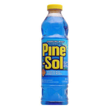 Pine-Sol Sparkling Wave All Purpose (Blue) - 28oz/12pk