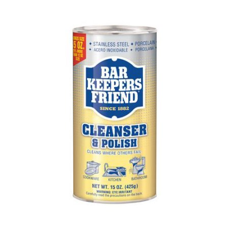Bar Keepers Friend Cleanser and Polish Powder - 15oz/12pk
