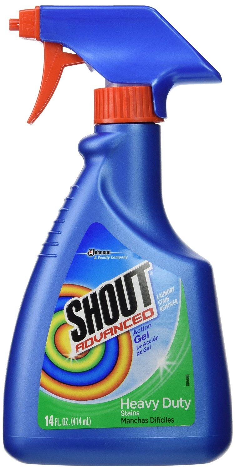 Shout Advanced Action Laundry GEL Trigger - 14oz/6pk