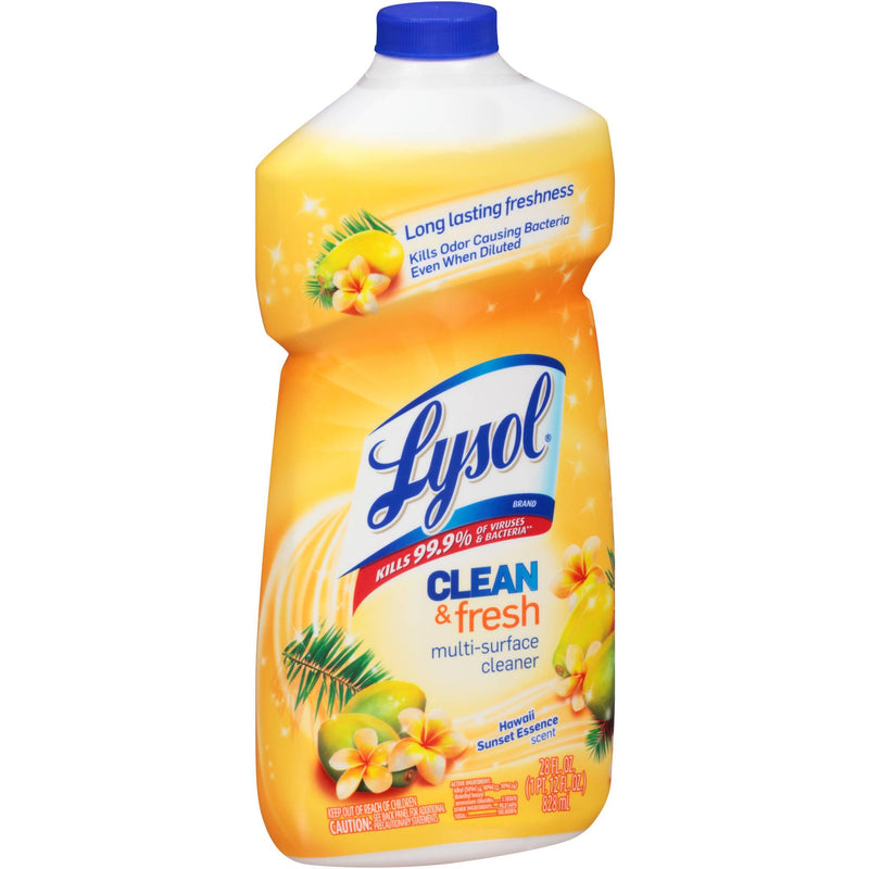 Lysol All Purpose Cleaners Pourable Hawaii Sunset - 28oz/6pk