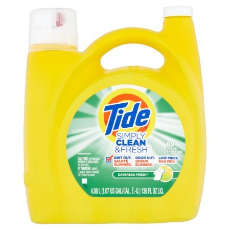Tide Liq. Simply Clean& Fresh Daybreak Fresh -138oz/4pk