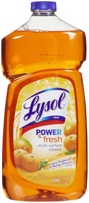 LYSOL All Purpose Cleaners Pourable ORANGE - 40oz/9pk