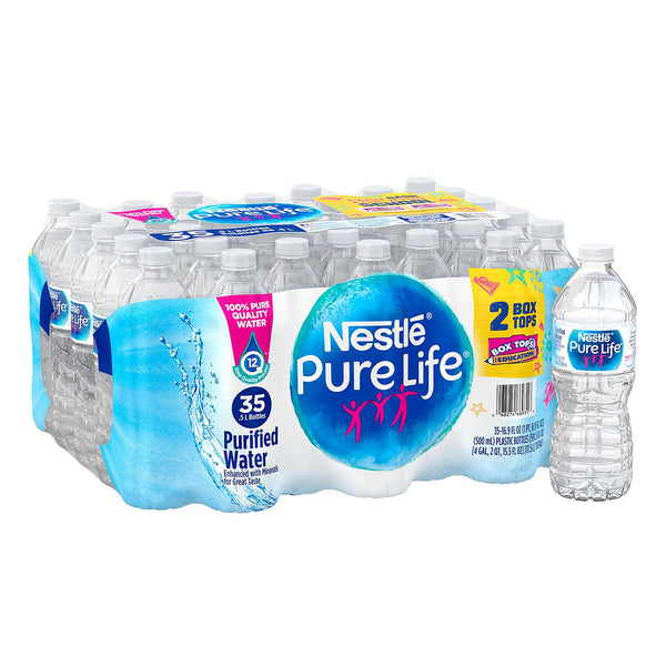 Nestle Pure Life Water - 16.9oz/35pk