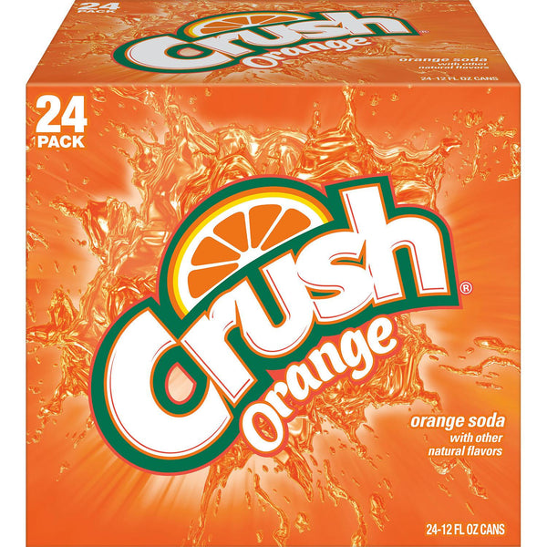 Crush Orange Soda Can - 12oz/24pk