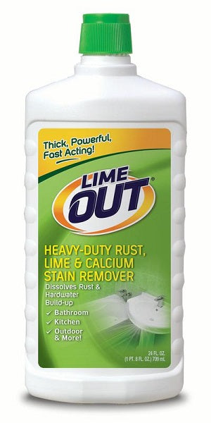 Lime Out Heavy Duty Rust, Lime & Calcium Remover - 24oz/6pk