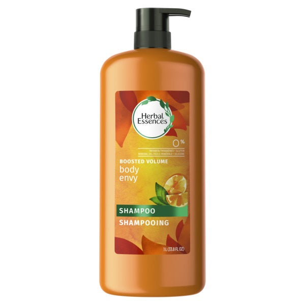 Herbal Essences Body Envy Volum SH w/Citrus - 33.8oz/4pk