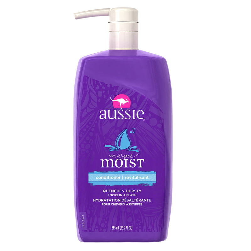 Aussie Conditioner Moist  w/pump - 29.2oz/4pk