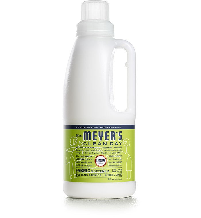 Mrs. Meyer's Softener Lemon Verbena 32oz/6pk