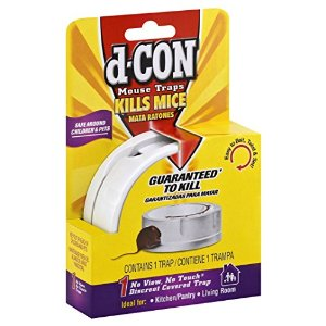 d-CON No View, No Touch™ - Slim Pack Mouse Trap - 1ct/12pk
