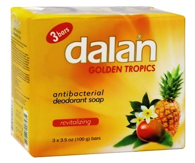 Dalan Golden Tropics Soap 3bar - 3.2oz/24pk