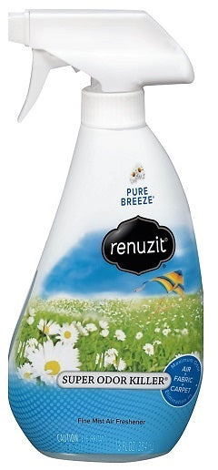 RENUZIT SUPER ODOR NEUTRALIZER Pure Breezee - 13oz/6pk