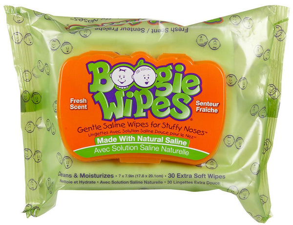 Boogie Wipes Fresh - 30ct/12pk