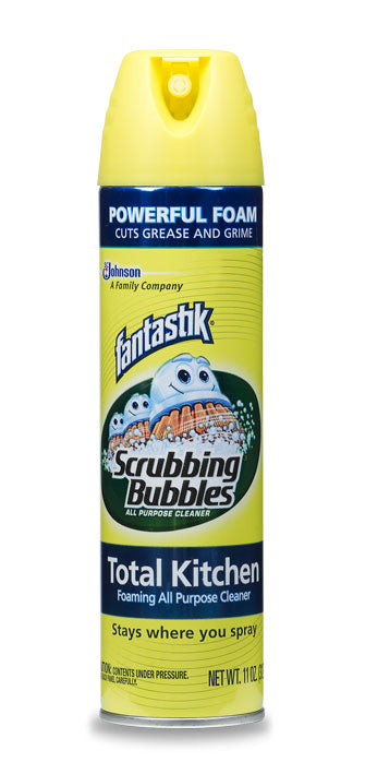 FANTASTIK@Scrubbing Bubbles AERO Kitchen Cleaner - 11oz/12pk