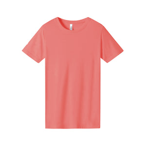 WOMENS Bamboo Cotton S/S Tee | UPF Protection Shirt - Coral