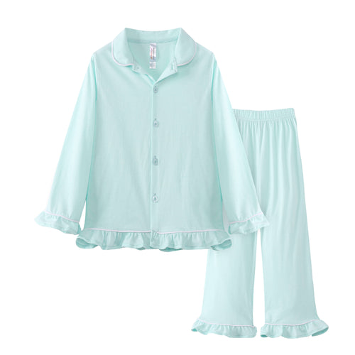 GIRLS 2pc Pajama Set - Honeydew