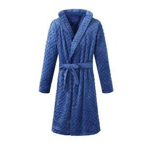 YOUTH Shower Bathrobe - Navy