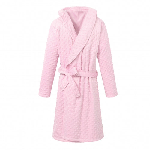 YOUTH Shower Bathrobe - Pink