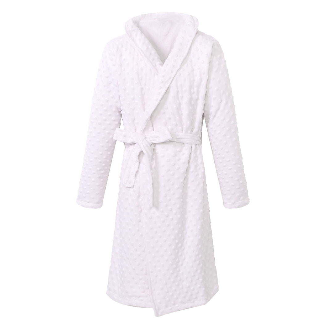 YOUTH Shower Bathrobe - White