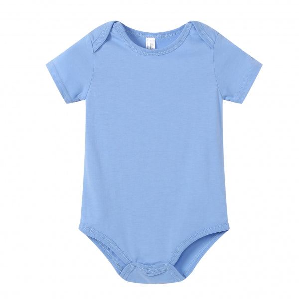 BABY Super Soft S/S Onesie - Light Blue