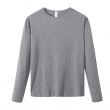 Load image into Gallery viewer, WOMENS Bamboo Cotton L/S Tee | UPF Protection Shirt - Heather Grey