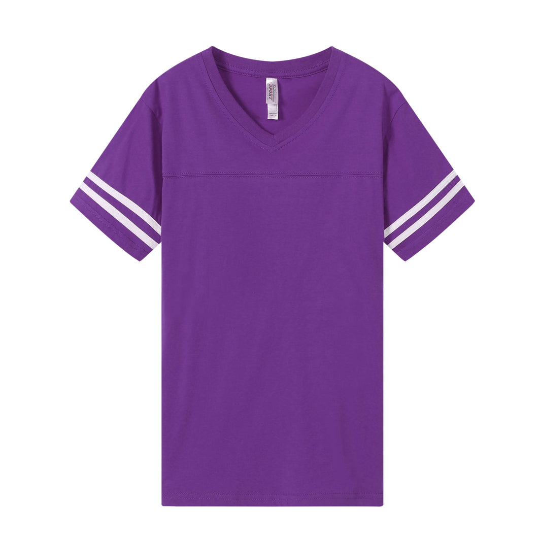 WOMENS Varsity Game Day S/S Tee - Purple