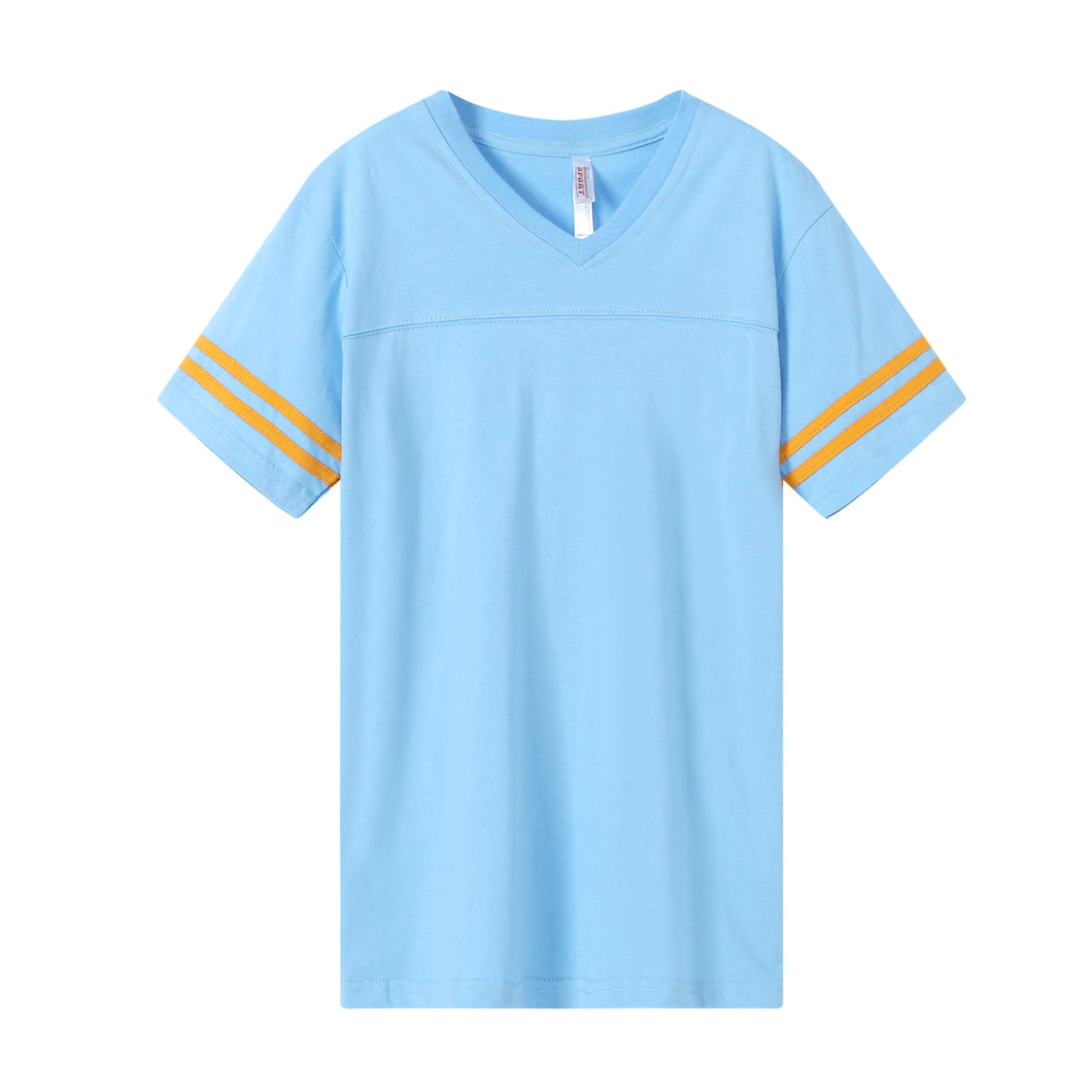 WOMENS Varsity Game Day S/S Tee - Sky Blue