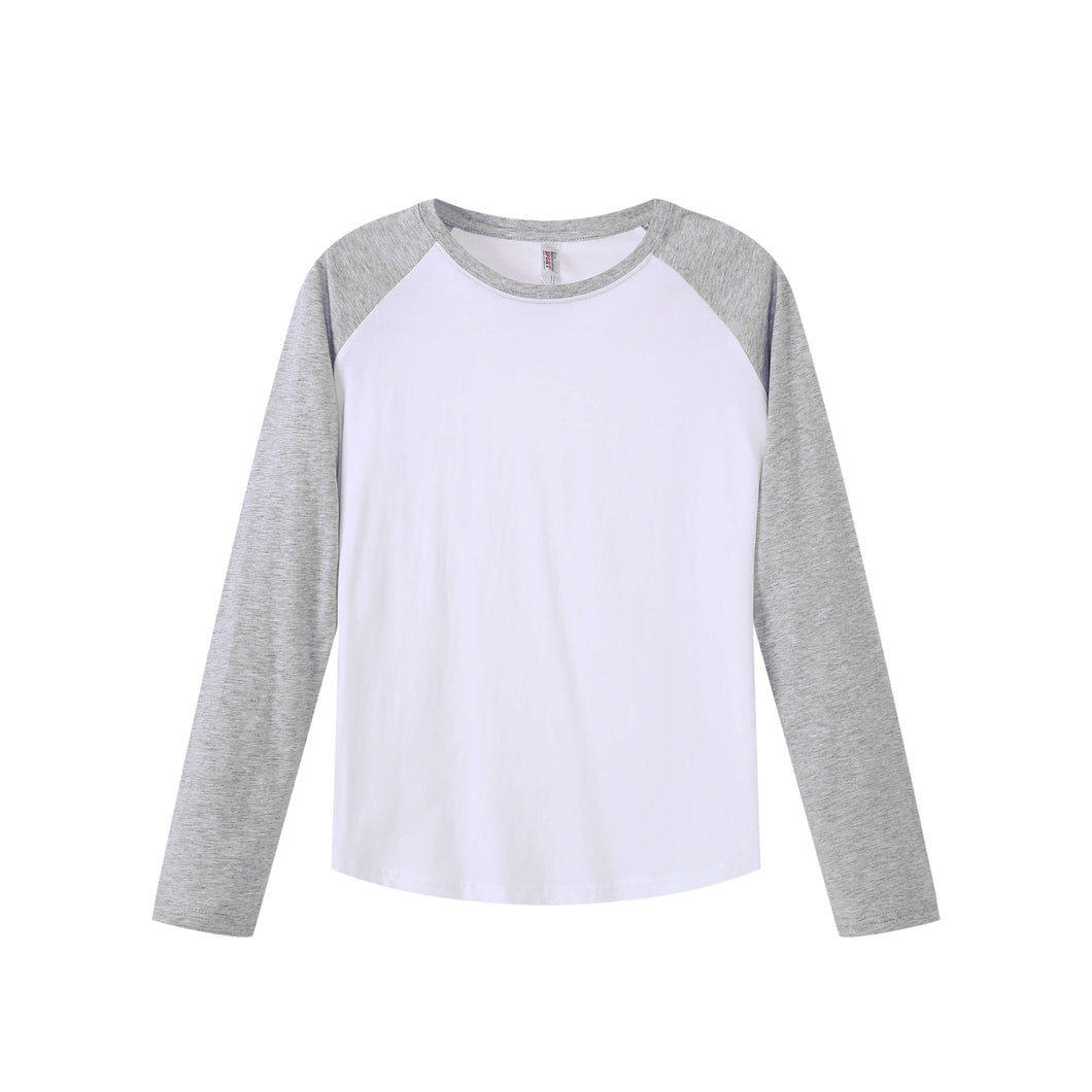 WOMENS Raglan L/S Top - Heather