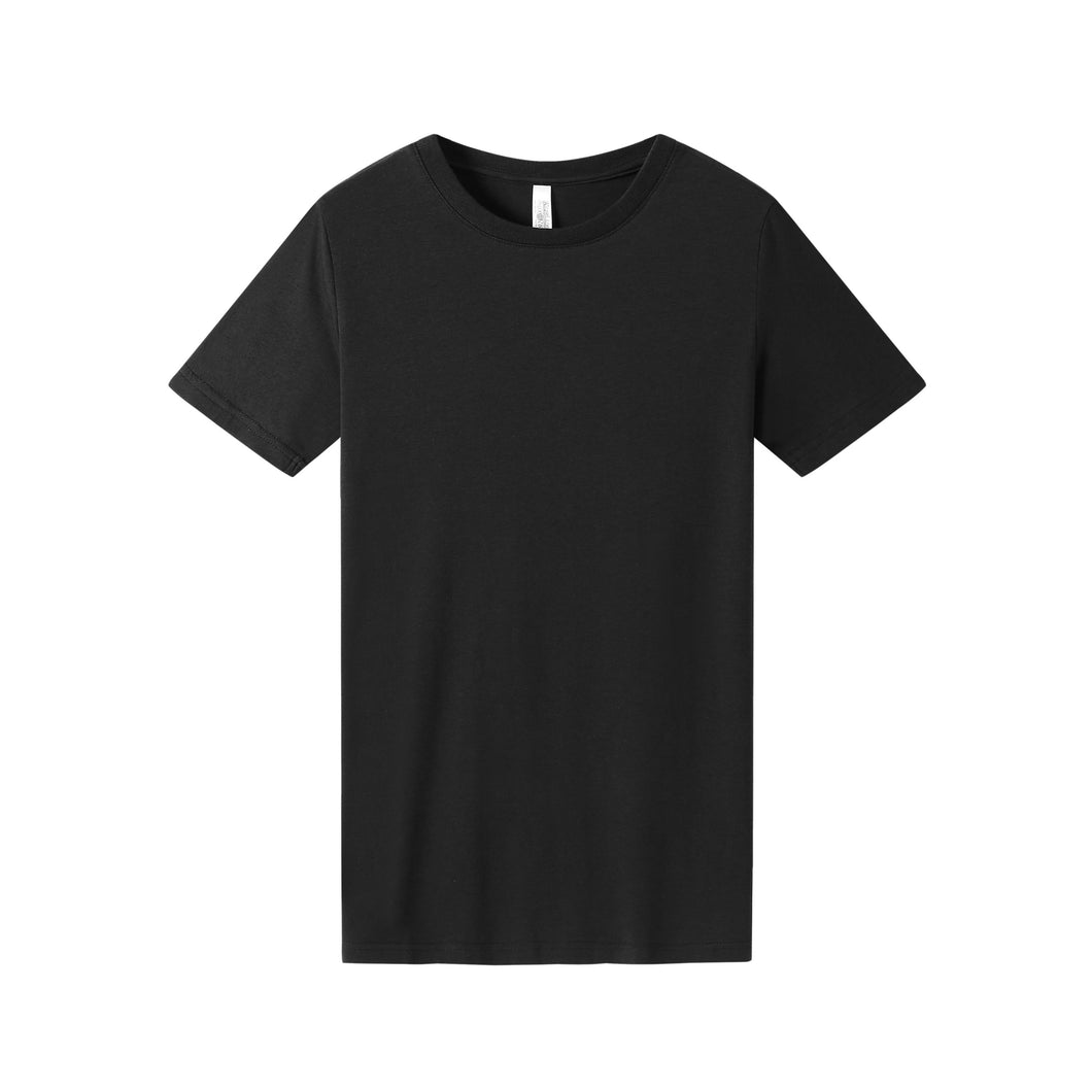 WOMENS Bamboo Cotton S/S Tee | UPF Protection Shirt - Black