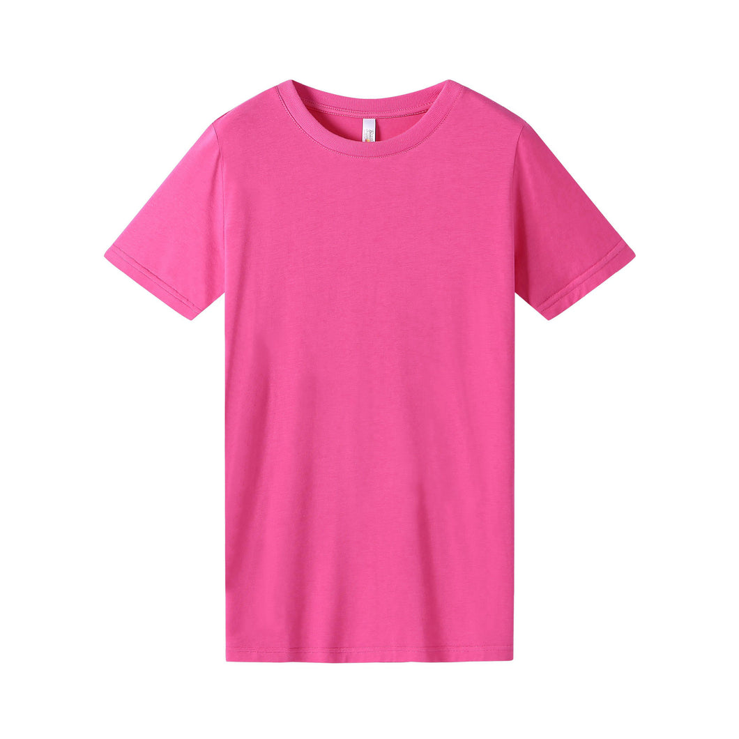 WOMENS Bamboo Cotton S/S Tee | UPF Protection Shirt - Fuchsia