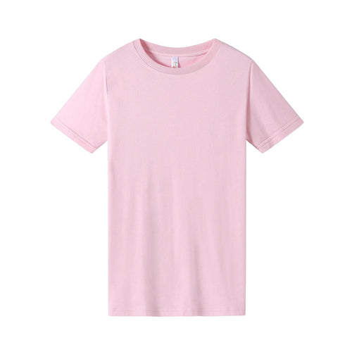 WOMENS Bamboo Cotton S/S Tee | UPF Protection Shirt - Pink