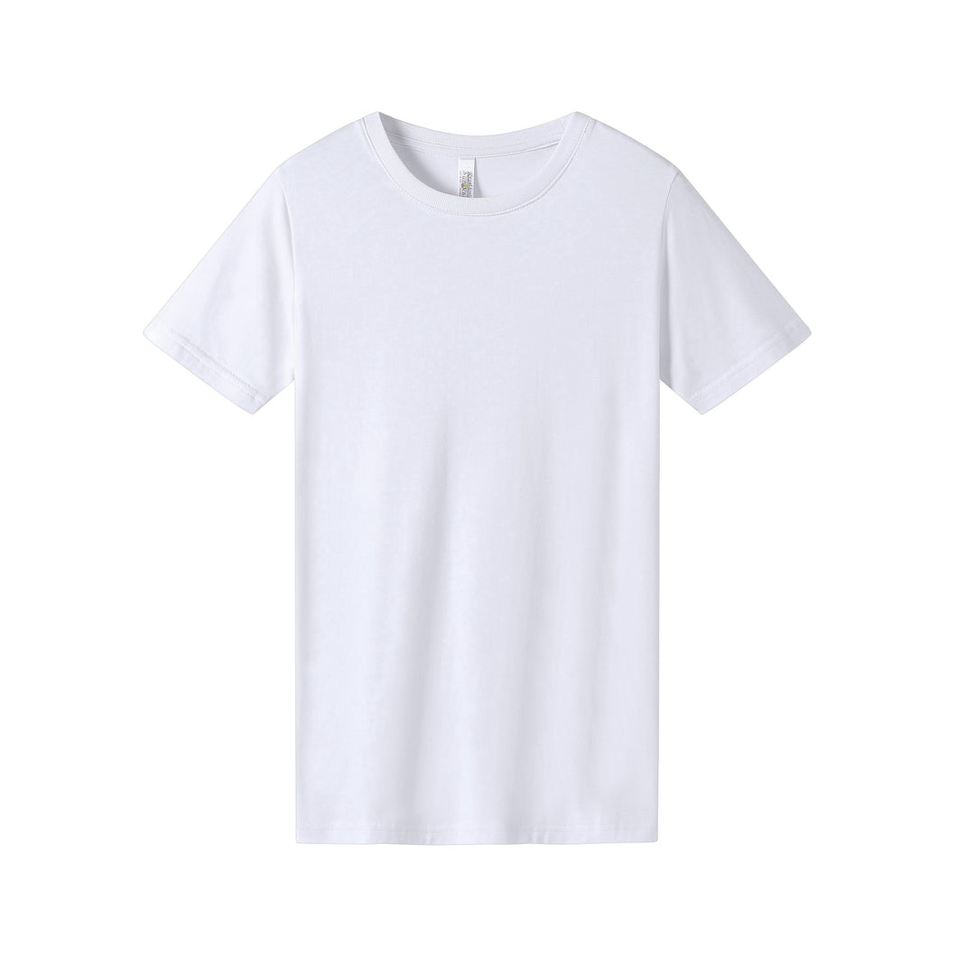 WOMENS Bamboo Cotton S/S Tee | UPF Protection Shirt - White