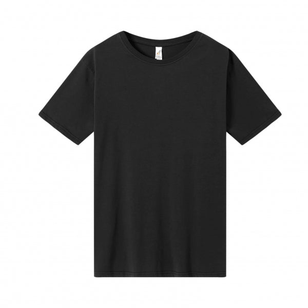 MENS Bamboo Cotton S/S Tee | UPF Protection Shirt - Black