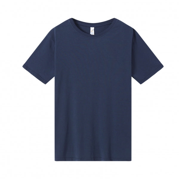 MENS Bamboo Cotton S/S Tee | UPF Protection Shirt - Navy