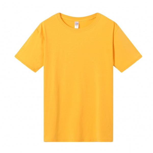 MENS Bamboo Cotton S/S Tee | UPF Protection Shirt - Orange
